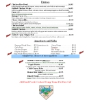 The Park Menu Pg 2