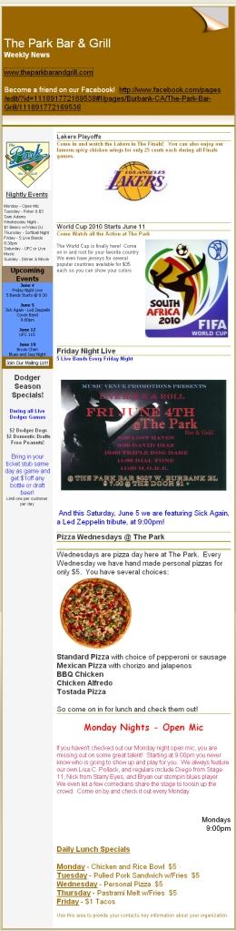 The Park 06/04/10